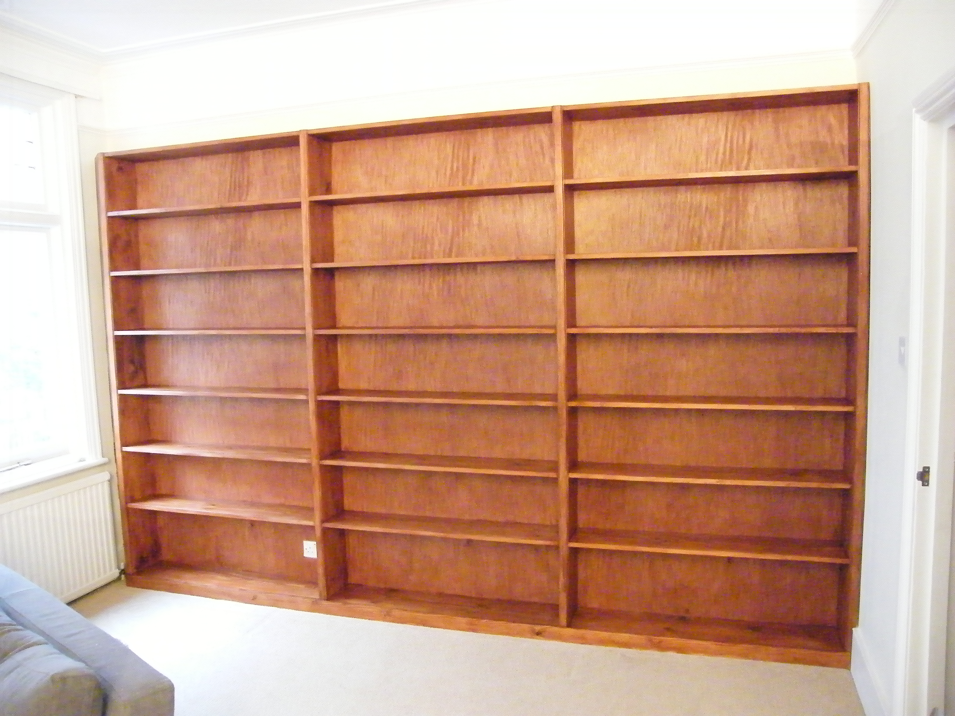 wood bookcases pine solid unfinished bookcase kits furniture