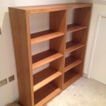 Small bookcase in oak and finished in danish oil. Herne Hill SE24