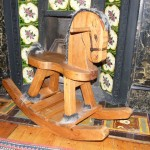 Softwood rocking horse. Clapham SW4