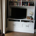 TV cabinet with bookcase. Catford SE6
