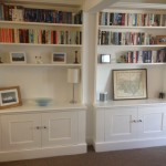 Pair of MDF cabinets with bookcases. East Dulwich SE22