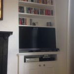 TV cabinet with bookcase. East Dulwich SE22